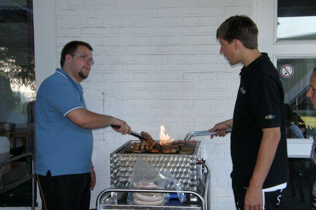 "Immancabile ""Grillabend"", serata barbecue...i tedeschi non vivono senza!!"