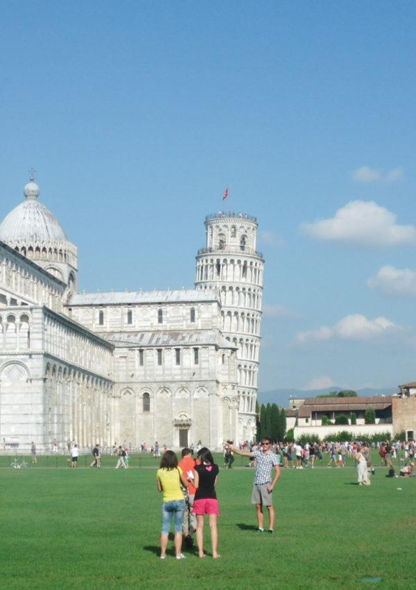 Il mio primo articolo in inglese…su Pisa