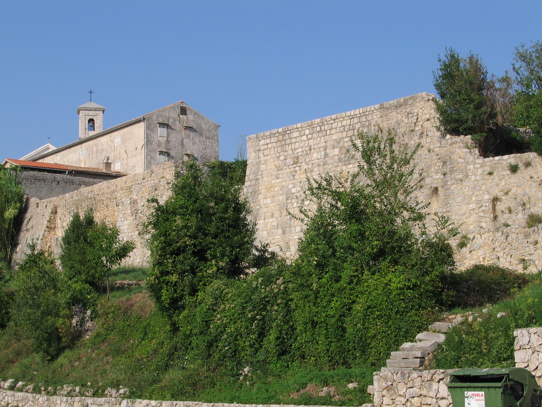 Krk città: le mura