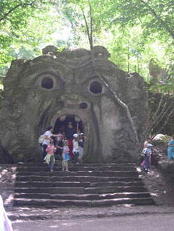 Cheryl Alexander: a small tour of Bomarzo