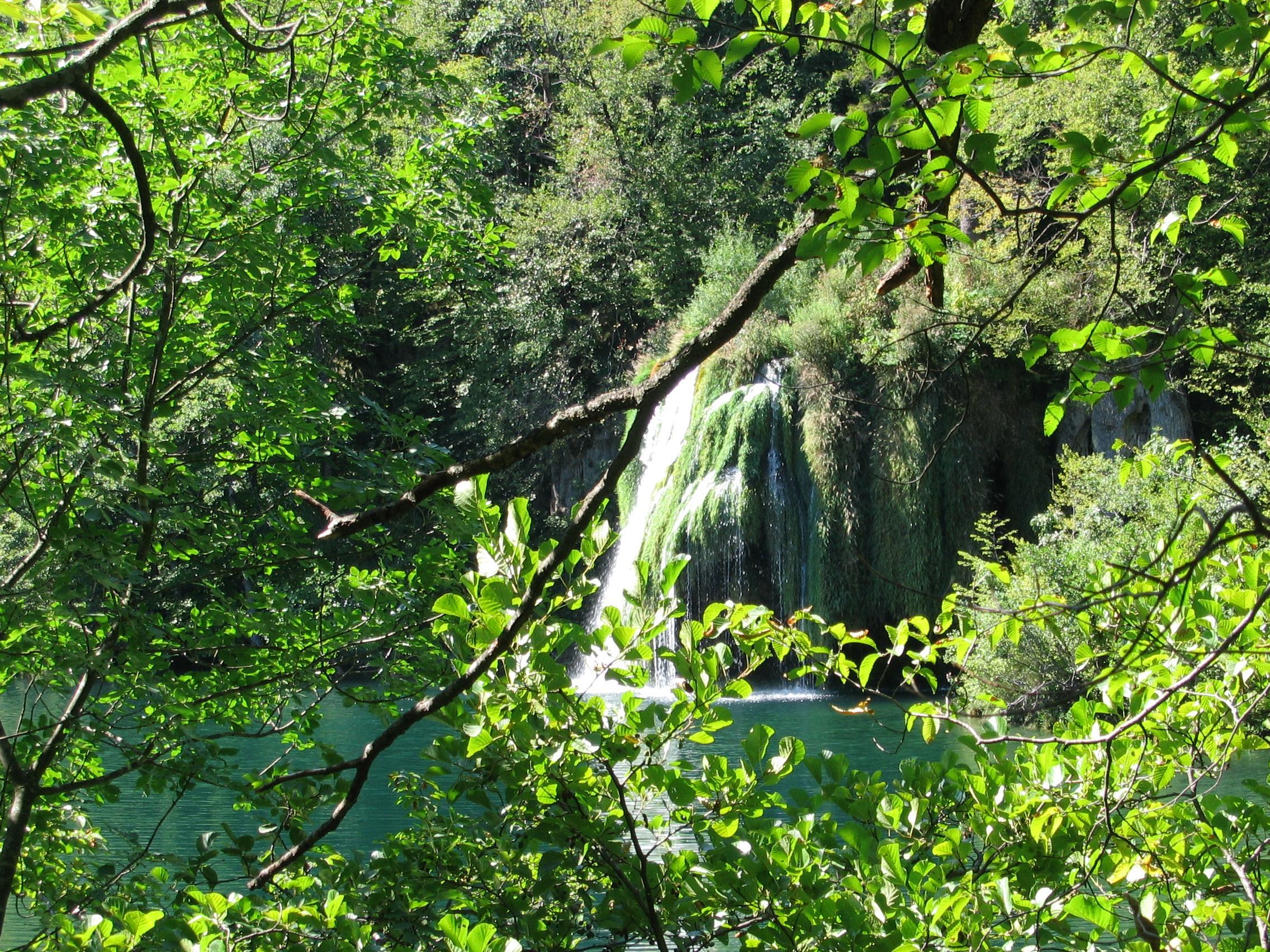 piccola cascata laghi di plitvice