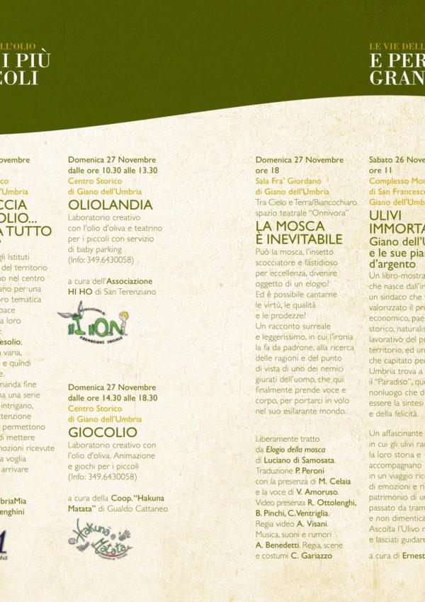 Festa della Frasca a Giano dell'Umbria il 26 e 27 Novembre