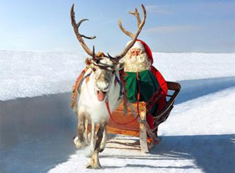 A Rovaniemi da Babbo Natale