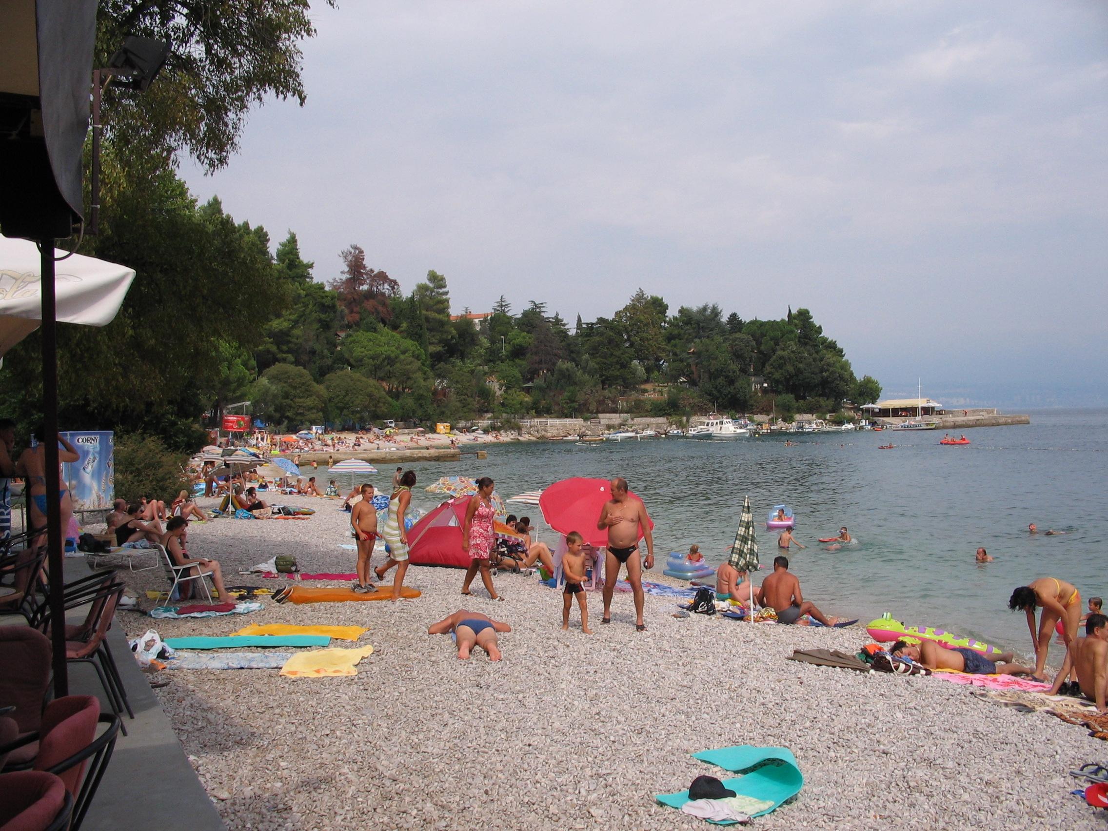 Croazia adatta ai bambini: la spiaggia di Medveja