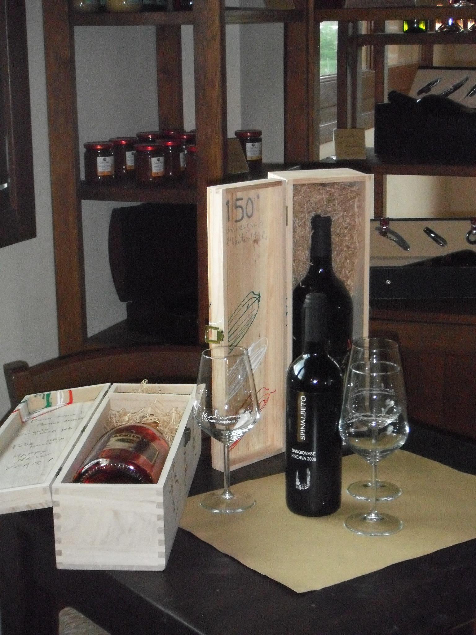 bottiglia di vino collina dei poeti