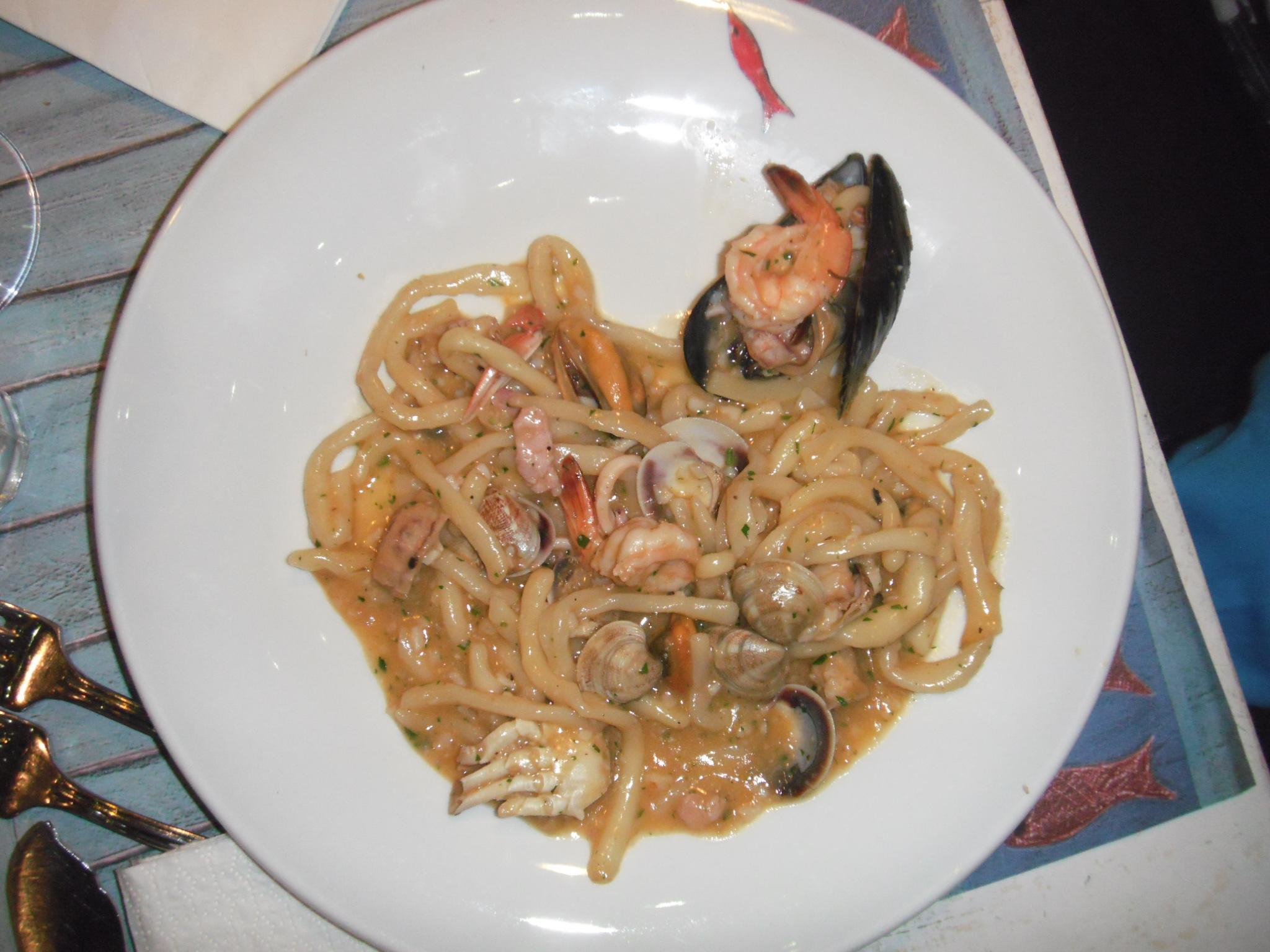 spaghetti al pesce molo 22 rimini