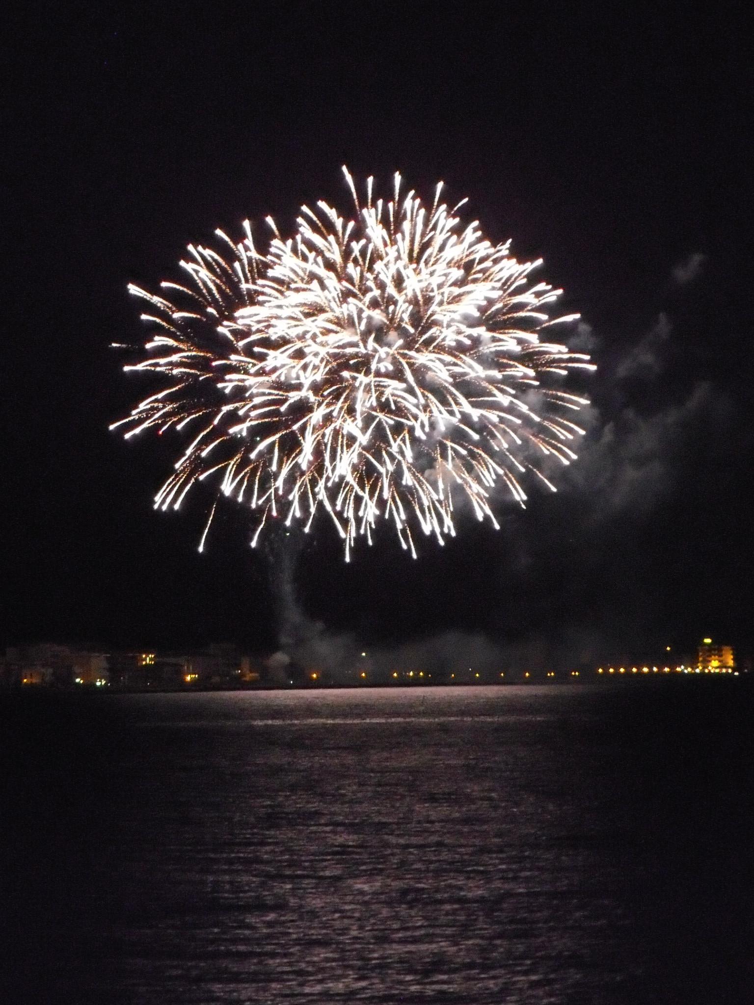 fuochi d artificio a rimini