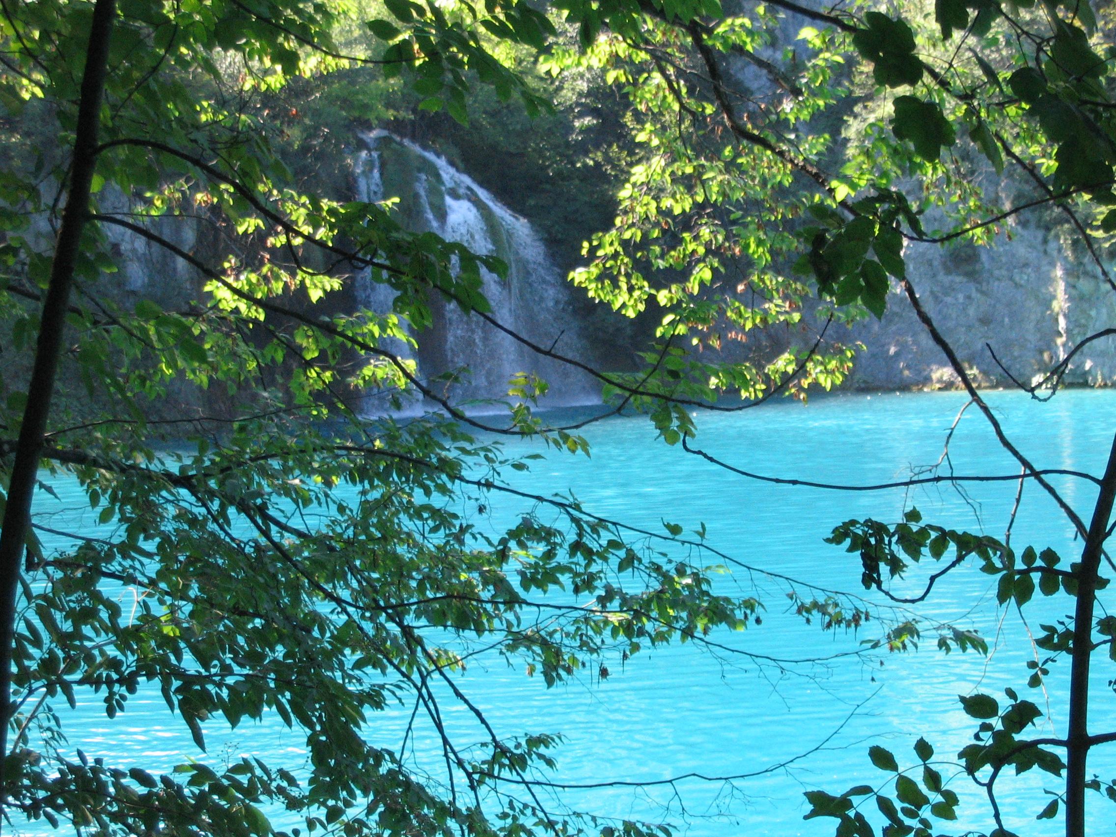 colore azzurro laghi di plitvice