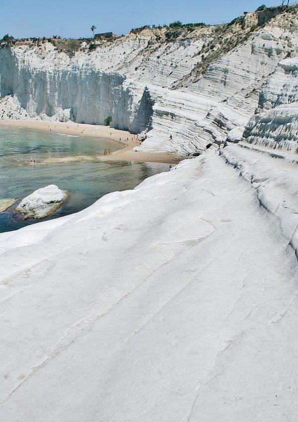 mare in sicilia scala dei turchi