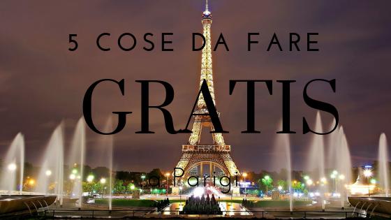 visitare parigi gratis
