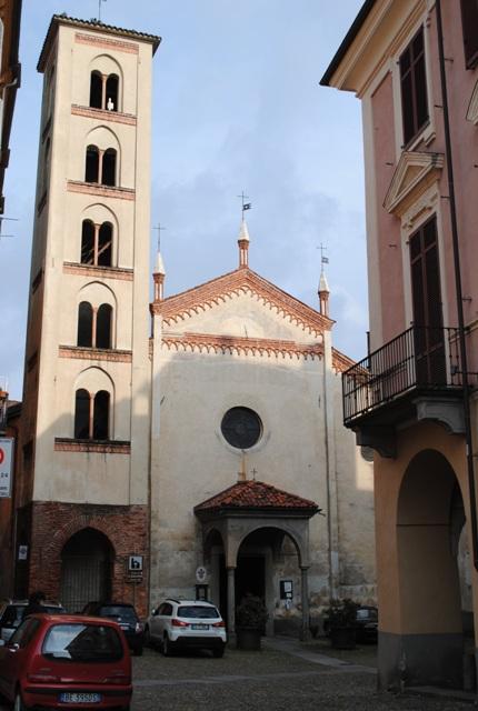 la chiesa di san giacomo a biella