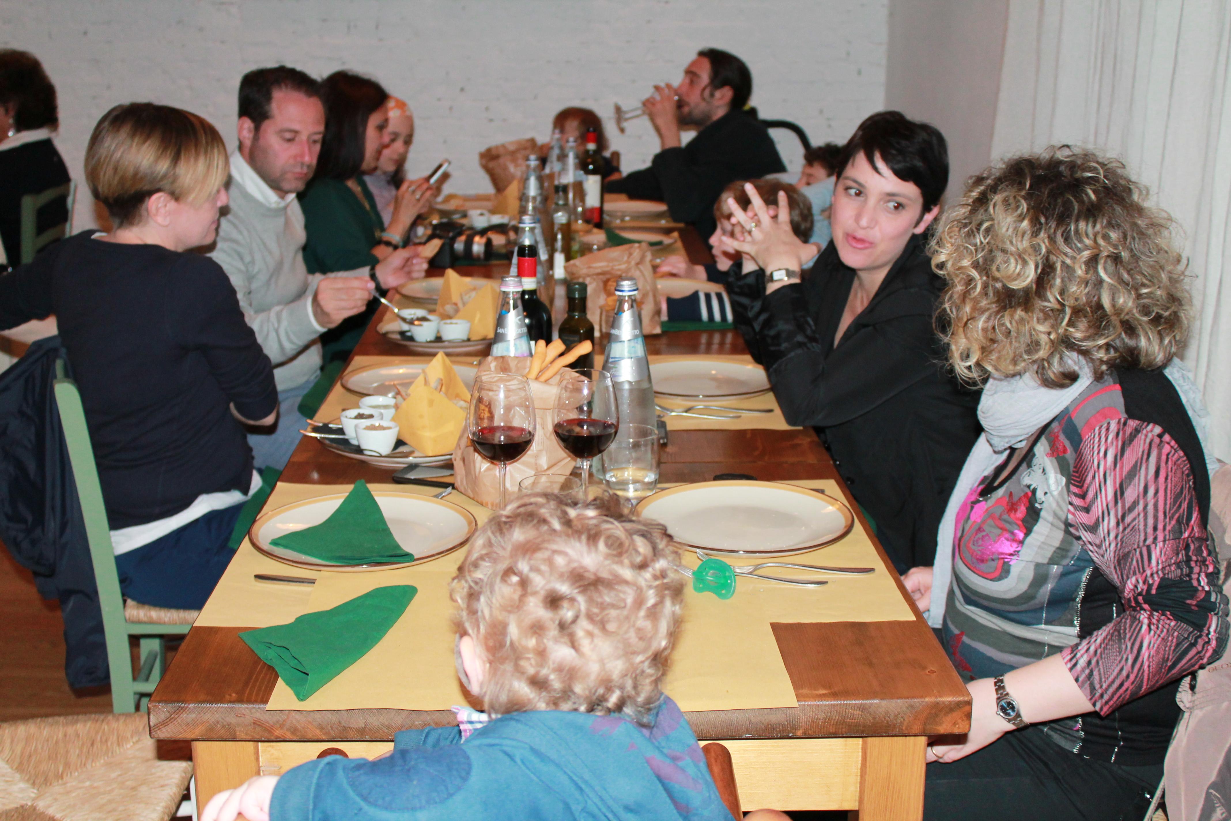 castelfalfi - ristorante