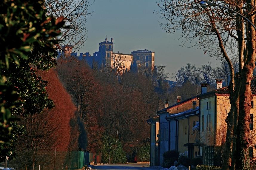 Montegalda con castello