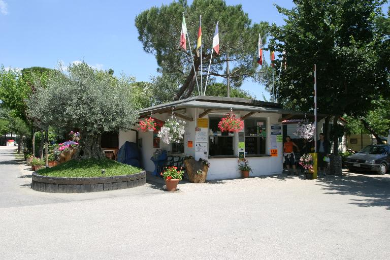 camping romagna reception