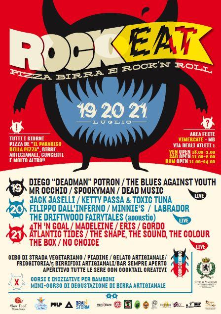 ROCKEAT 2013 – area feste Vimercate (MB)