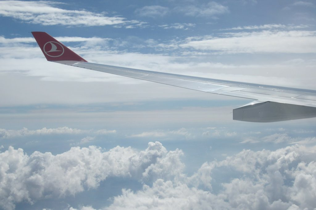 esperienza di volo con turkish airlines