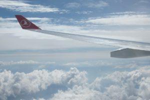 esperienza di volo con turkish airlines