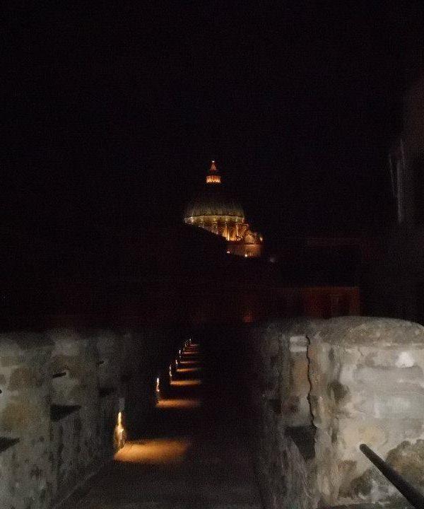 Roma: visita notturna a Castel Sant'Angelo
