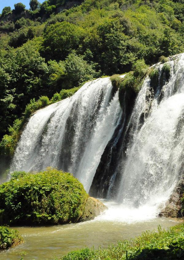 Cascata delle Marmore: quando l'uomo fa della natura un'opera d'arte…