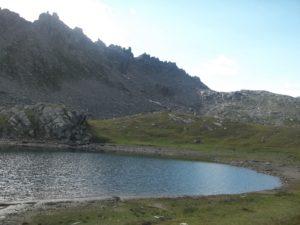 lago serru, parco nazionale del gran paradiso