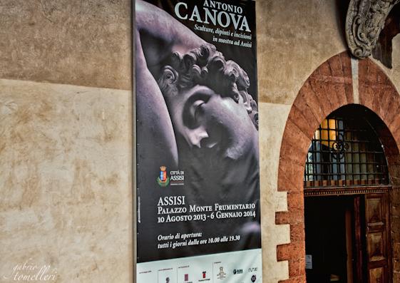 Canova ad Assisi: non solo la mostra, anche Canovafood