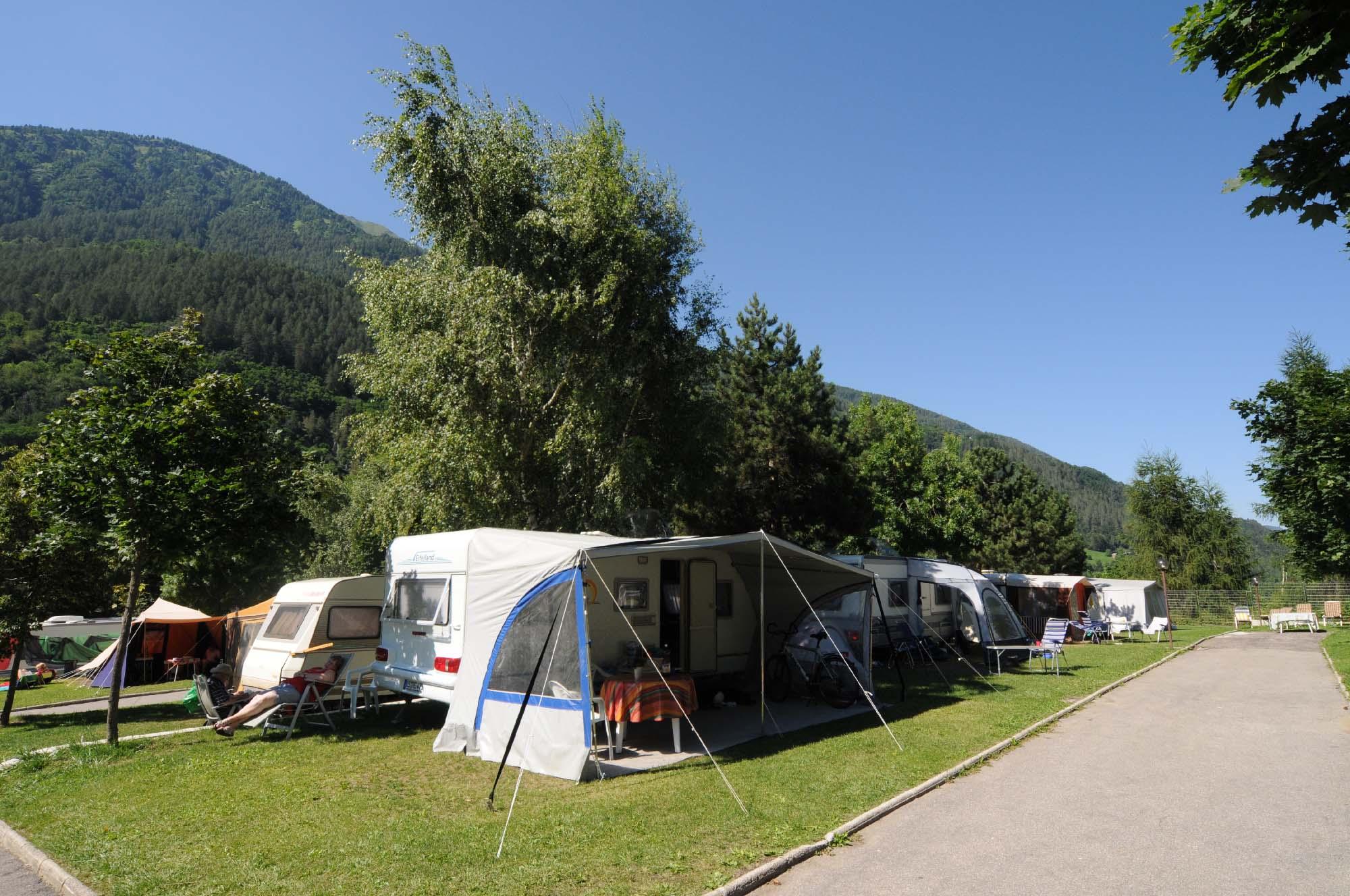 campeggio in trentino alto adige