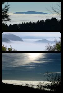 Collage nuvole alla futa
