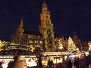Marienplatz durante l'Avvento
