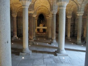 Abbadia S. Salvatore_la cripta