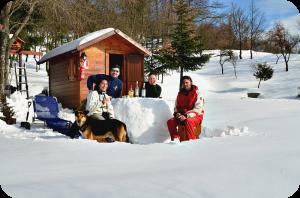 bar alla futa con neve