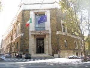 Roma - Ministero dello sviluppo economico Ingresso di rappresentanza