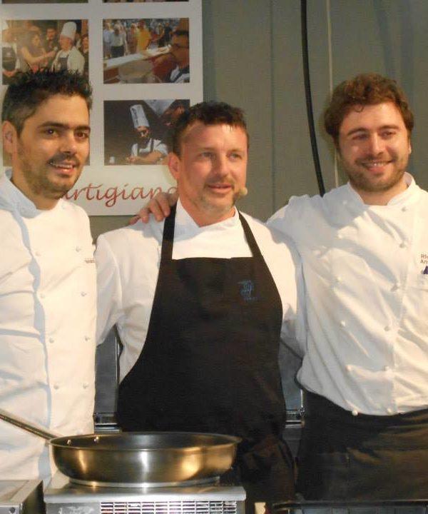 Cooking show a Bassano del Grappa con i prodotti DE.CO
