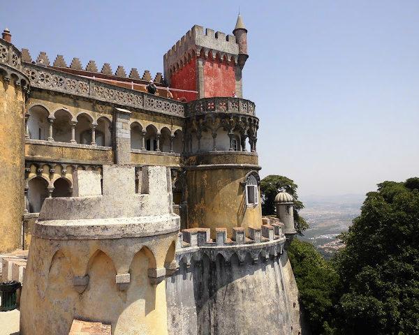 Sintra: una visita al Palacio Nacional da Pena