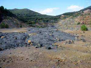 Cava mineraria a Rio Marina