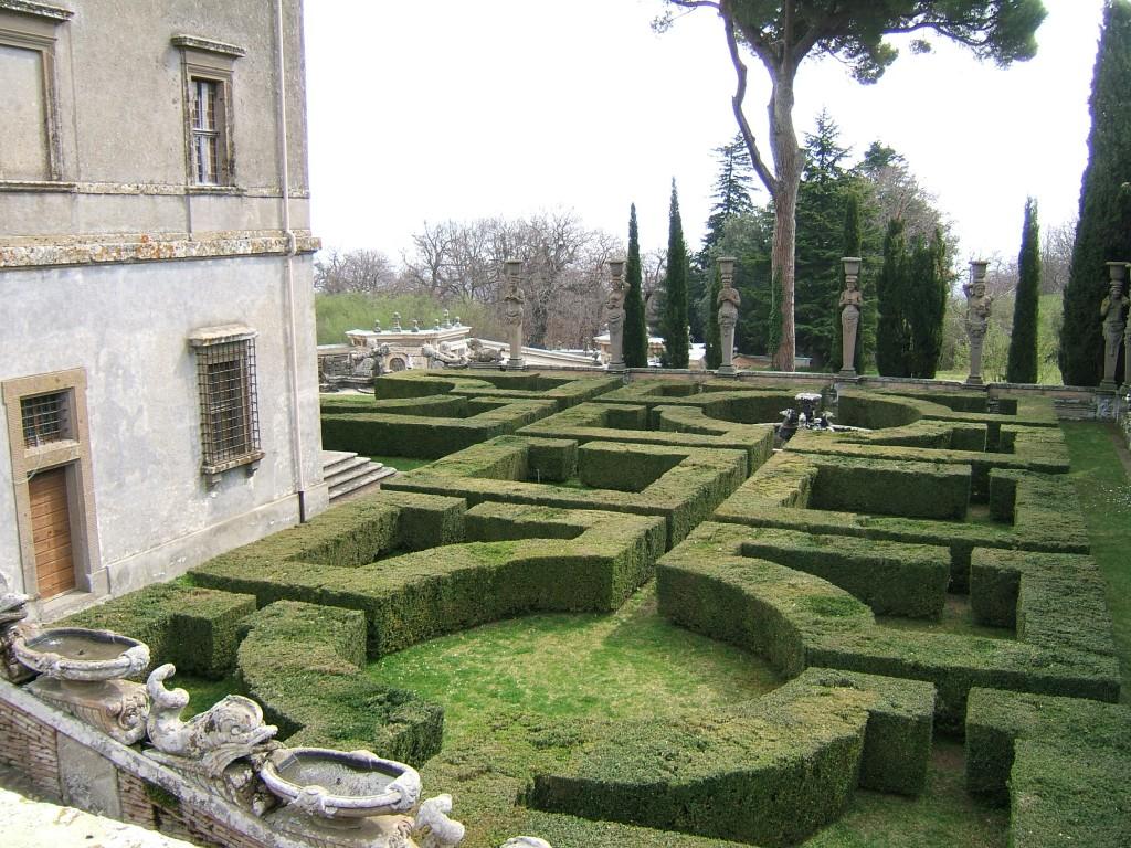 Villa Farnese, Caprarola, Viterbo Il giardino all'italiana e la Casina del Piacere