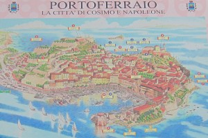 Cartina di Portoferraio
