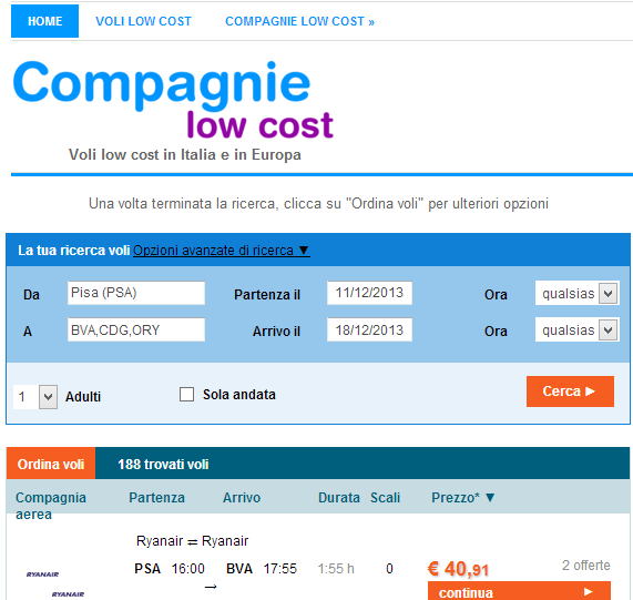 compagnielowcost