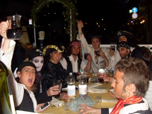 Nella taverna con i pirati