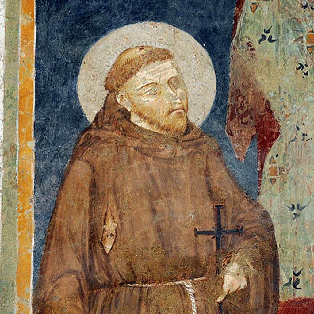 San Francesco Giano affresco