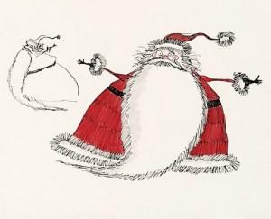 Santa claus Burton