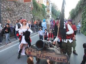 Pirati arrivati per cercare il tesoro