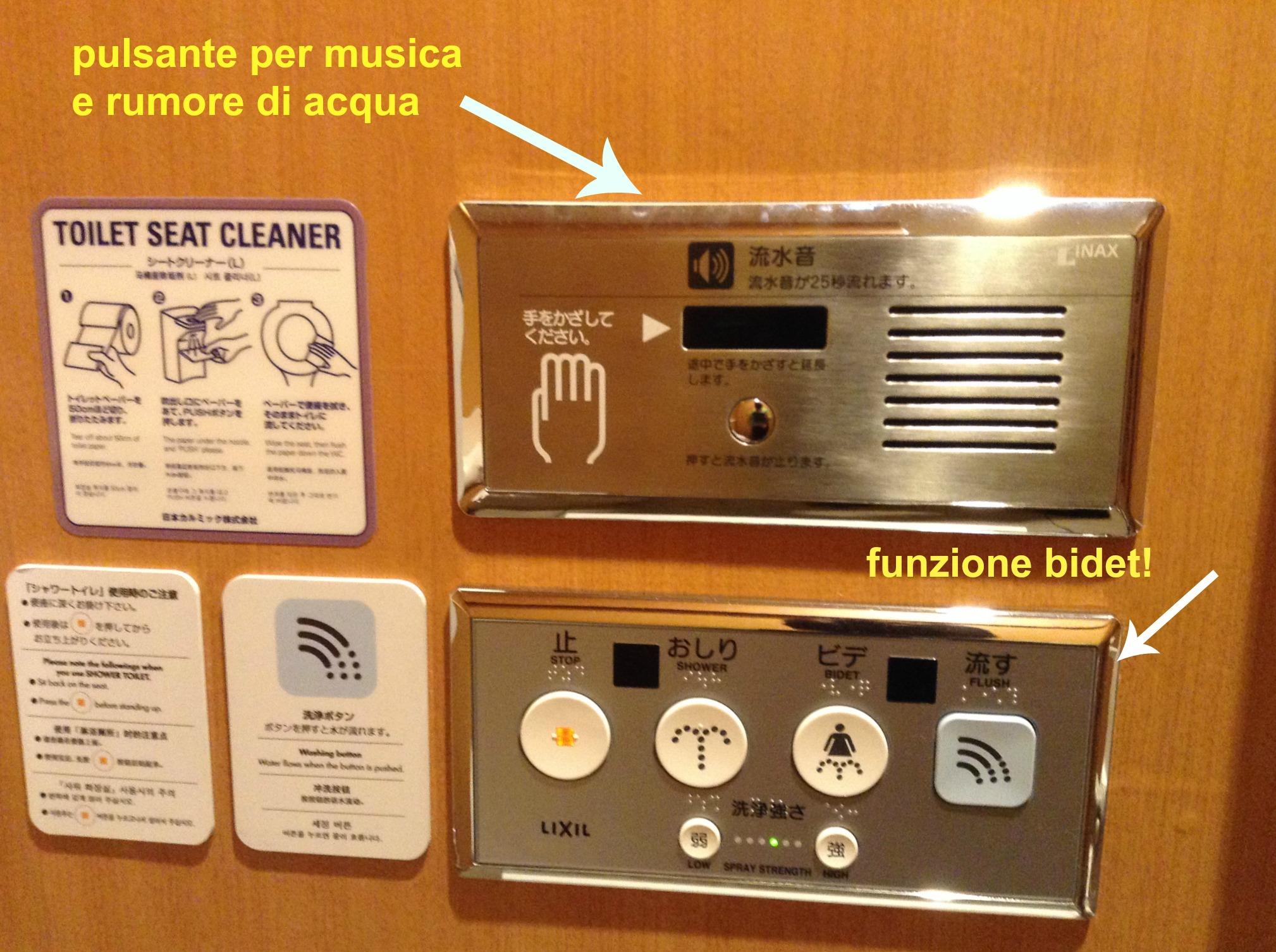 la tecnologia dei bagni giapponesi