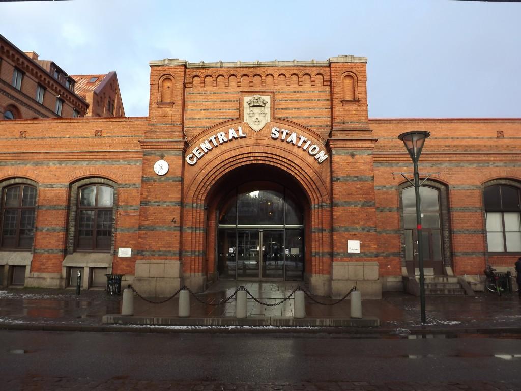 esterno della Central Station a Malmo