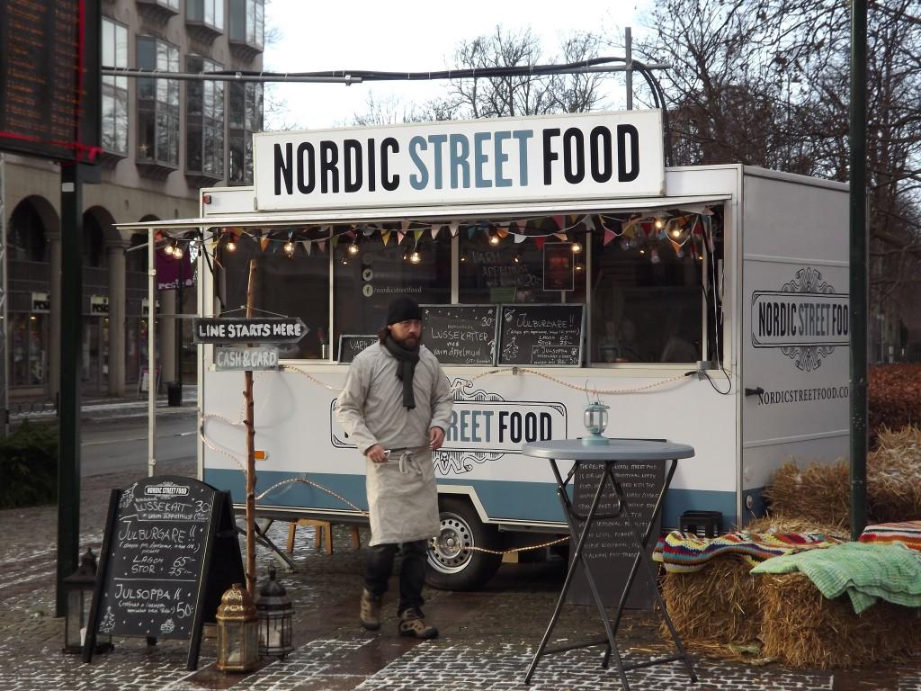 chiosco di street food a Malmö