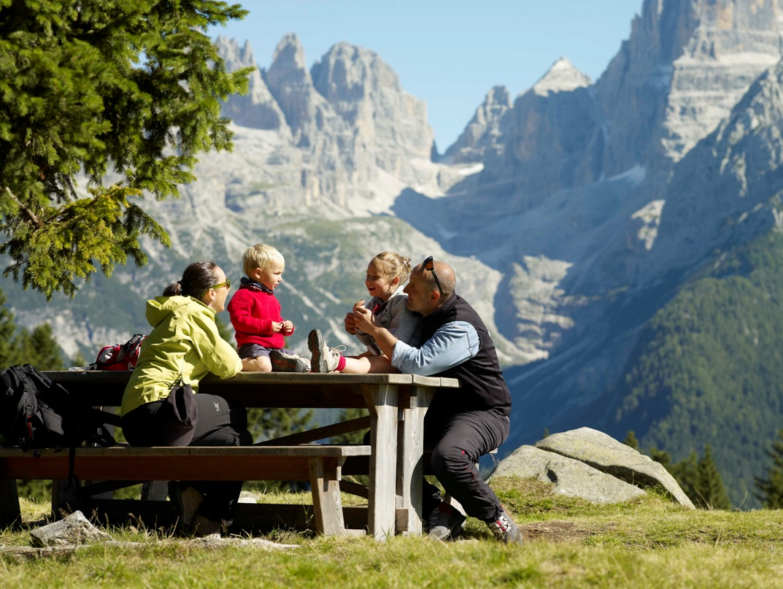 trentino montagna da vivere in campeggio trippando