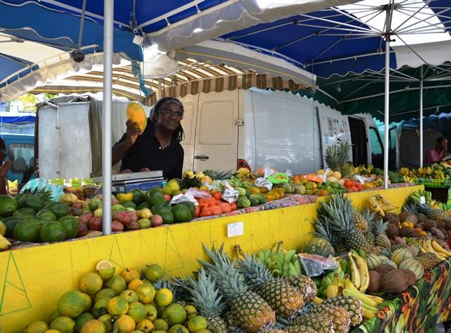 Frutta al Mercato di St Anne