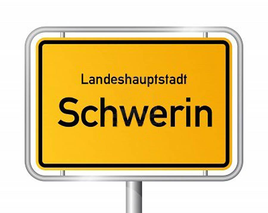 Schwerin cartello stradale