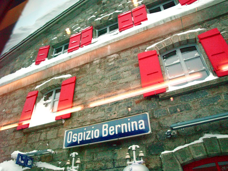 Trenino Ospizio Bernina