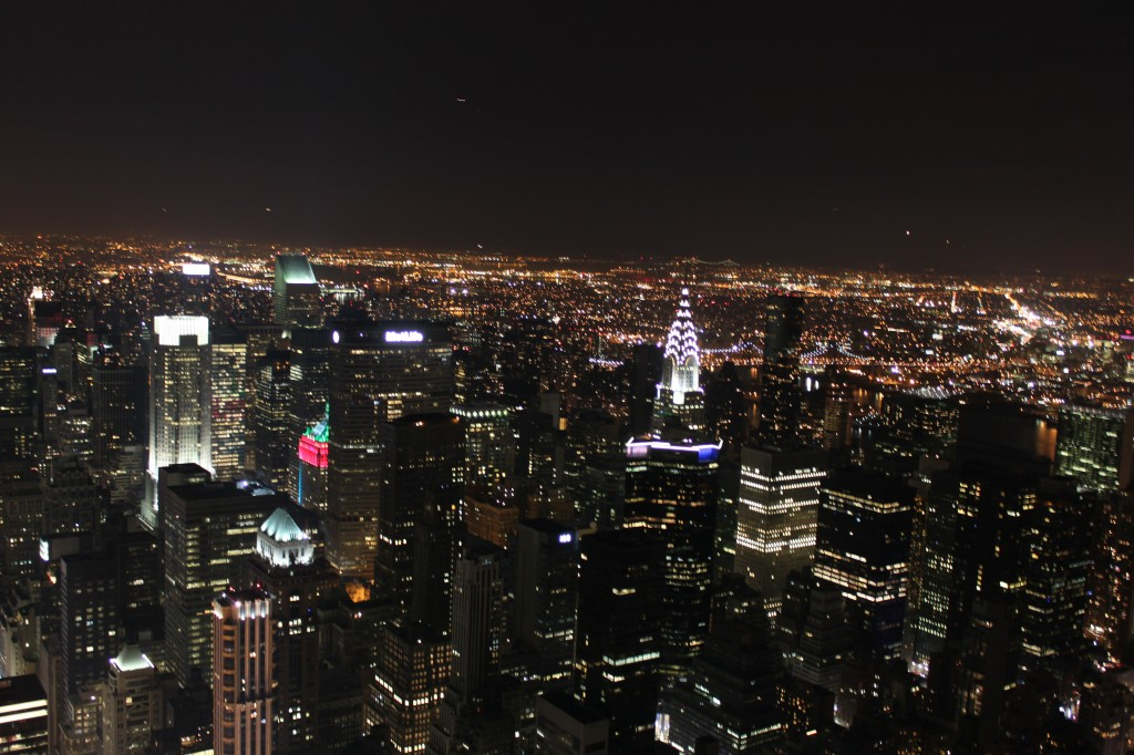 vista dall'empire state building