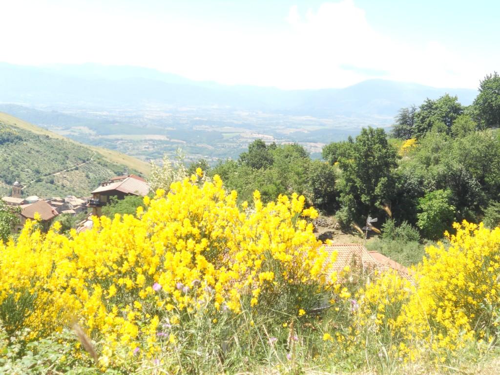 Ciociaria, Monti Ernici, lungo la strada per Guarcino